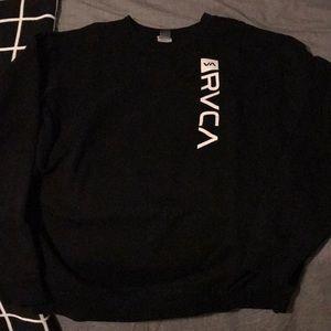Men's RVCA crewneck sweatshirt.  Size L
